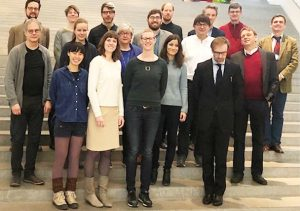 Participants of the conference at Pinakothek der Moderne in Munich