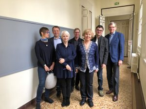 The board meeting at ESPE in Paris, March 2018